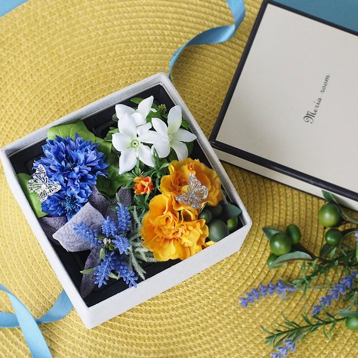 誕生日、結婚記念日、メモリアルギフトに贈るフラワーボックス