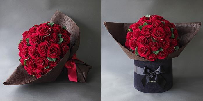 バラ50本の花言葉