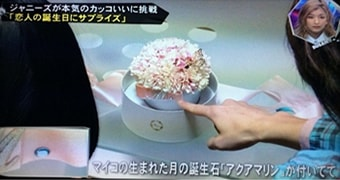 メリアルームメン テレビで紹介されたプレゼントはこちら