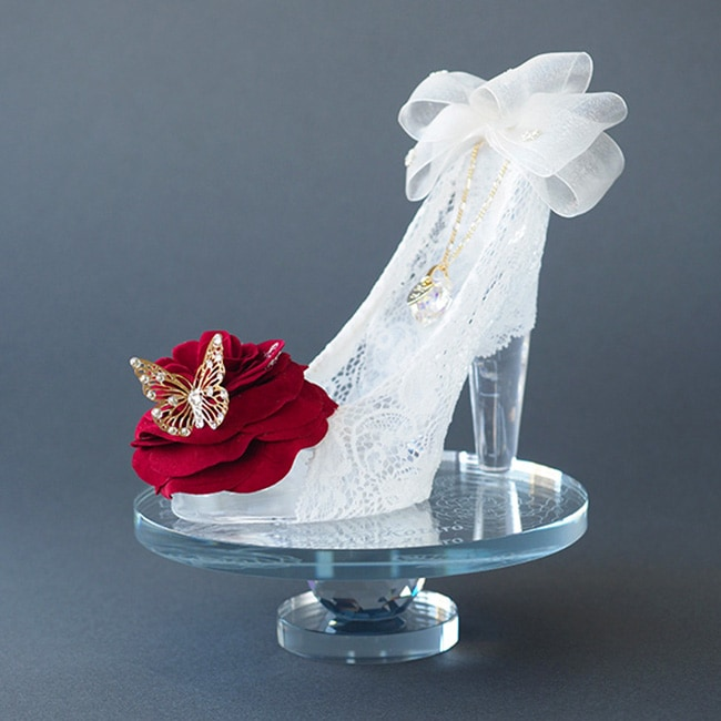 【演出�】ガラスの靴プリンセスブルー