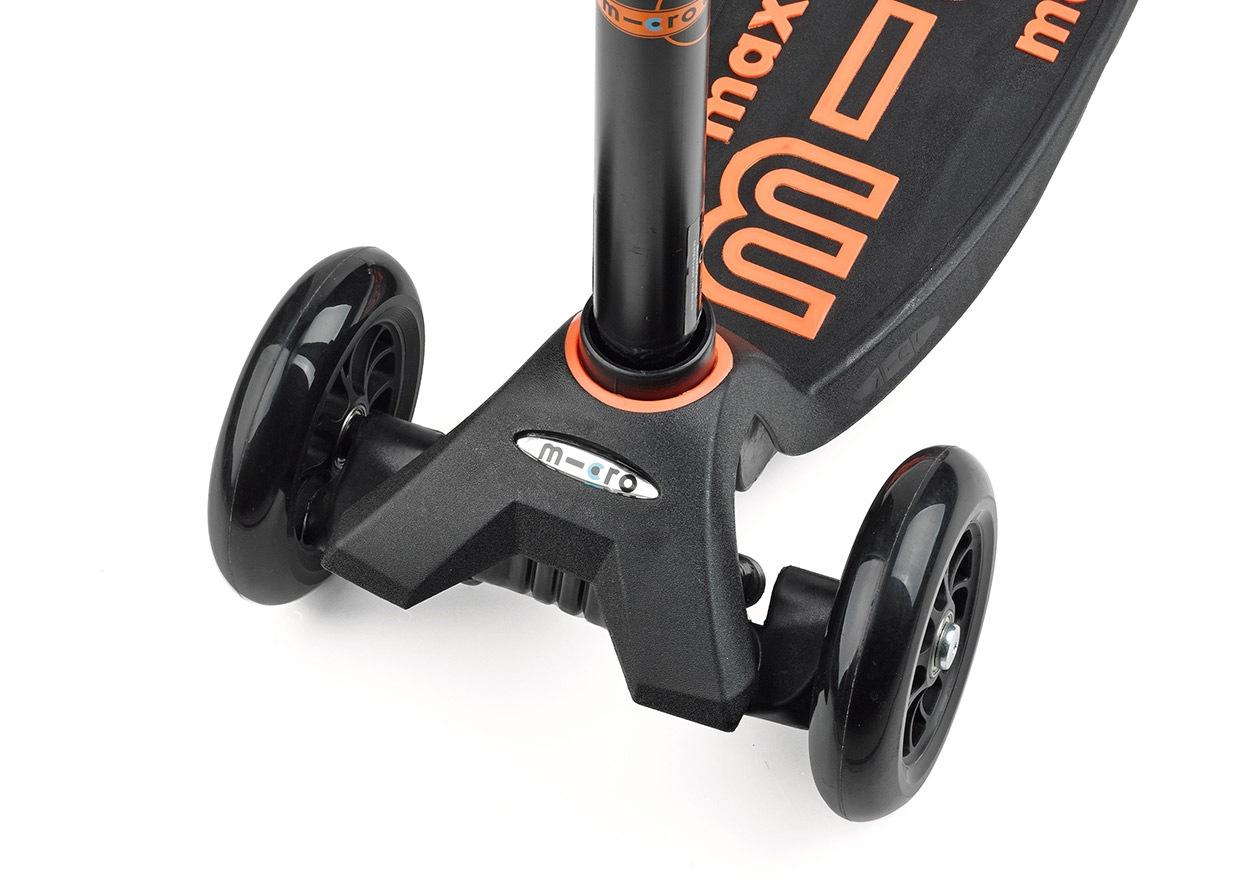 3輪タイプのキックボードの安定性