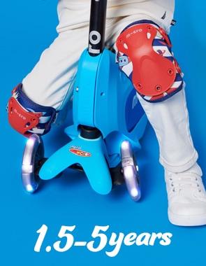 幼児用キックボード、幼児用三輪車、幼児用スクーター