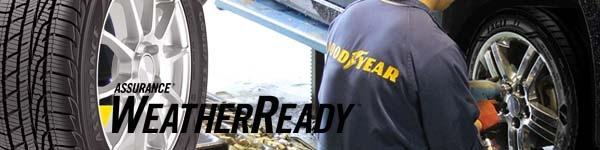 グッドイヤーAssurance WeatherReady〈アシュアランス ウェザーレディ〉