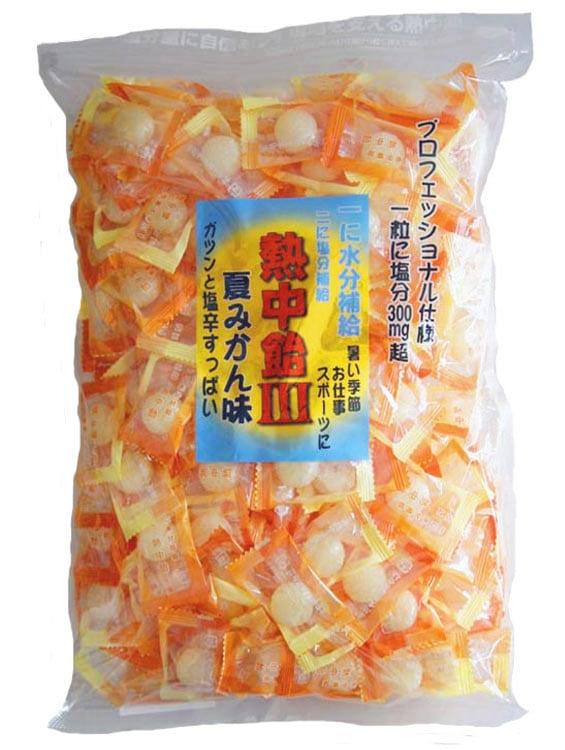 手造りの飴 『地釜本造り』熱中飴3 夏みかん味(塩飴)(小袋)井関食品