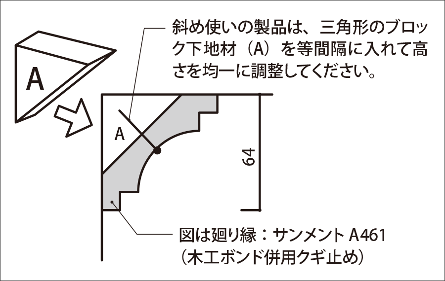 組み合わせ参考例:天井廻り縁(2-2)