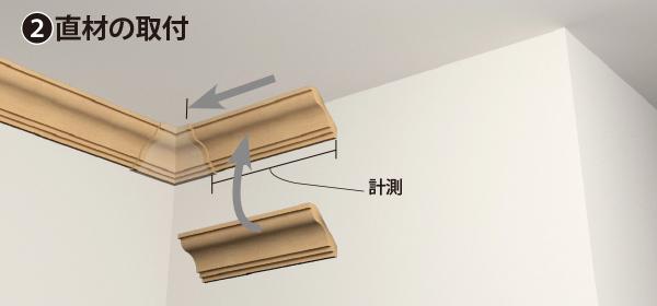 カバータイプ製品の施工方法の手順2