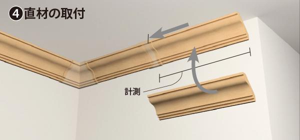 カバータイプ製品の施工方法の手順4