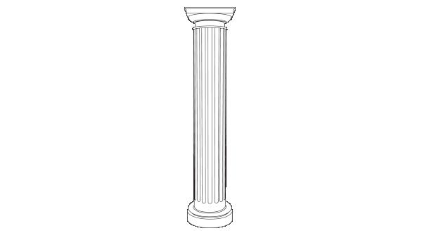 パワーセラ:円柱・付け柱