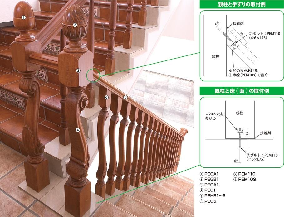 木製輸入ピューラ施工方法例1