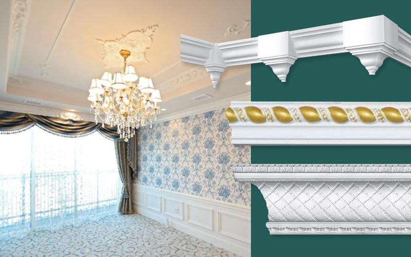 内装用 ポリウレタン製装飾材 エレガンス