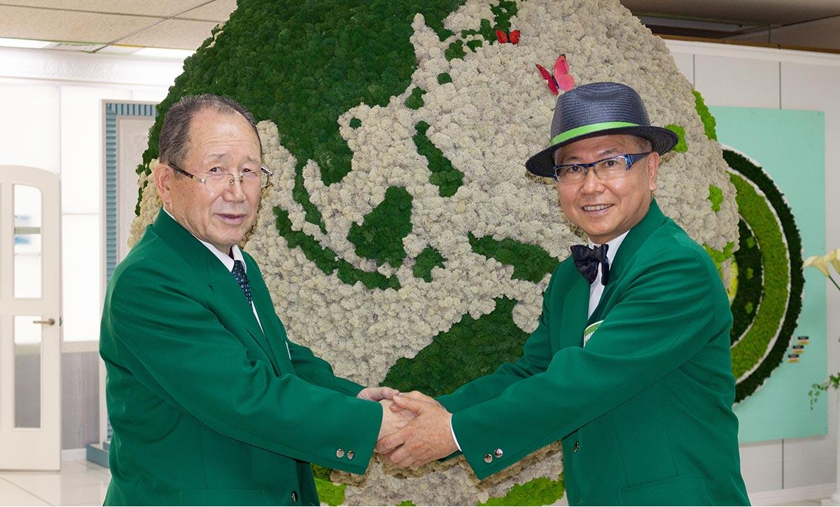 世界的庭園デザイナー石原和幸氏とみはしのコラボ「mossMANプロジェクト」始動