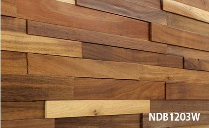 ウッドパネル 3Dウッドボード NDB1203W施工事例