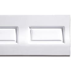 【NPVP007】PVC製壁面装飾ボード 800×400×22mm