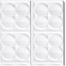 【NPVP008】PVC製壁面装飾ボード 1050×810×20mm