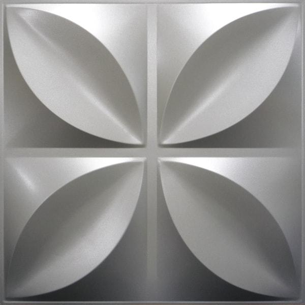 NDSB3004SL スチール製3パネル 3Dジン 銀色 300×300mm