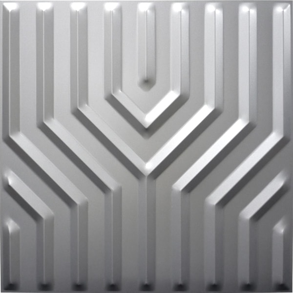 NDSB5005SL 3Dジン スチール製 銀色 500×500mm