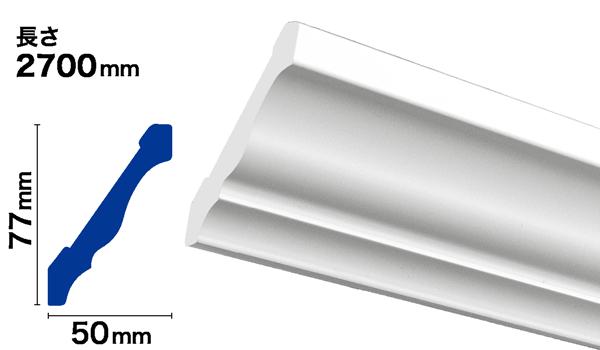 PVC製モールディング サンメントPVC NPV049B