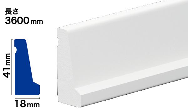 PVC製モールディング サンメントPVC NPV116
