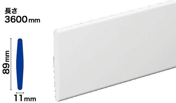 PVC製モールディング サンメントPVC NPV312