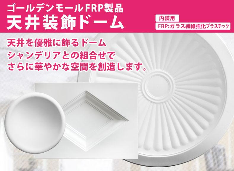 ゴールデンモールFRP製品 天井ドーム2