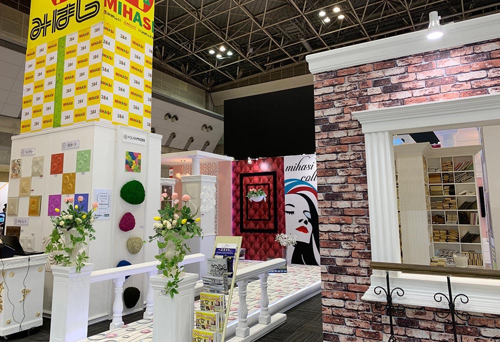 JAPAN SHOP 2019  みはしブースの展示風景全体