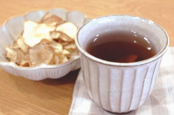 ミモレ農園で育った菊芋を使用したチップスです。