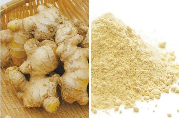 ミモレ農園で育った農薬不使用生姜を100%使用した、無添加「生姜粉末」です。