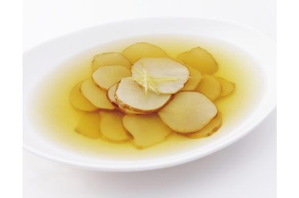 ミモレ農園 生姜仕立て 菊芋の和風スープ
