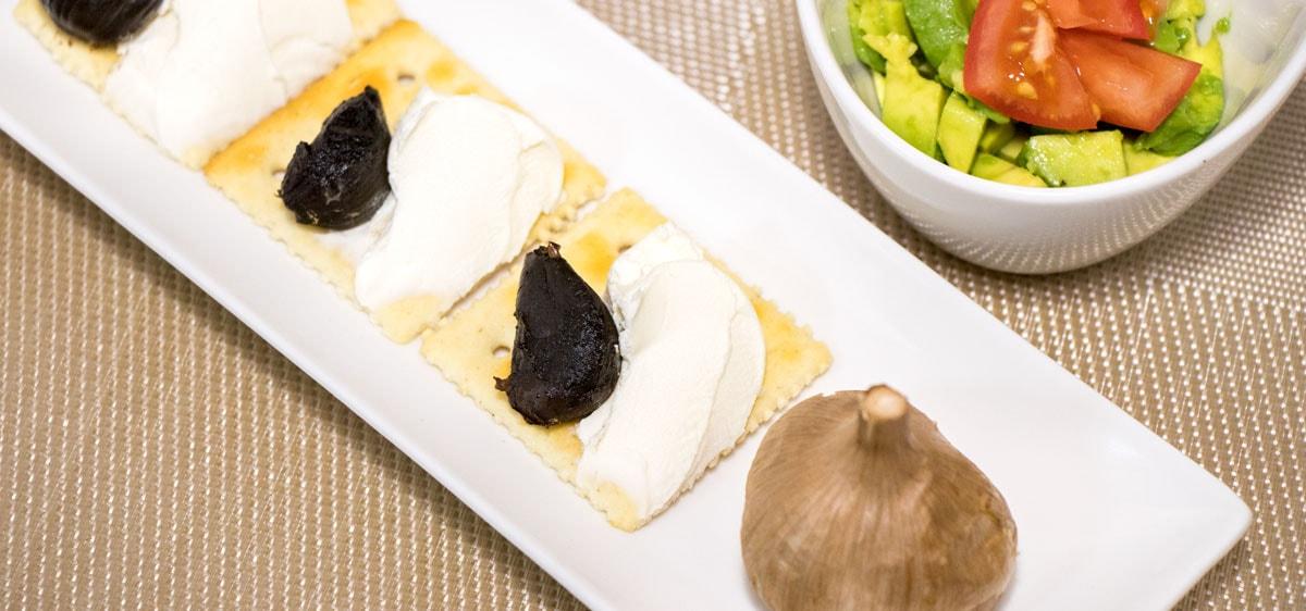 黒にんにく料理写真