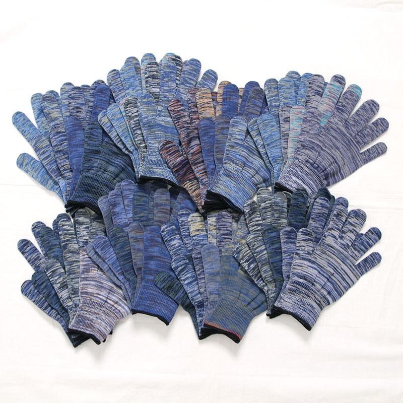 odd glove ブルー系