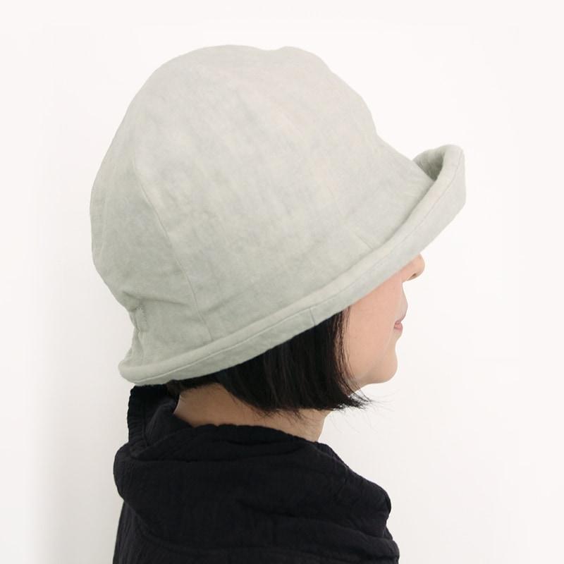 帽子 ヘンプ モデル着用写真