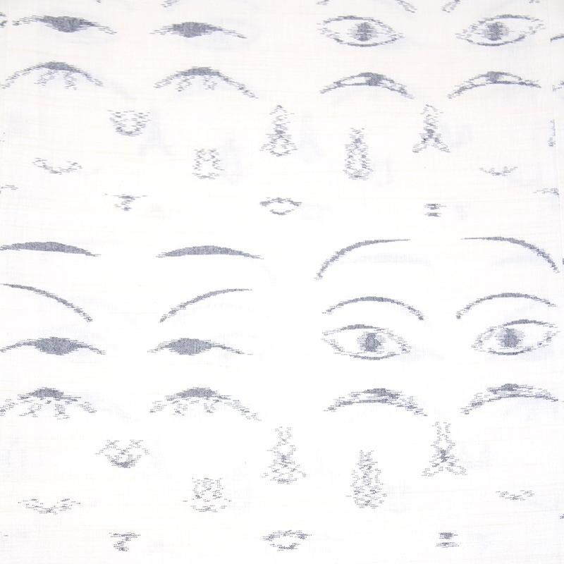 久留米絣「こけし絣」画像
