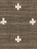 十字柄(ベージュ)の写真