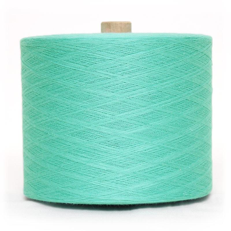 和木綿のグリーン糸