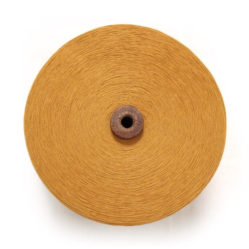 和木綿の糸「カラシ」の写真