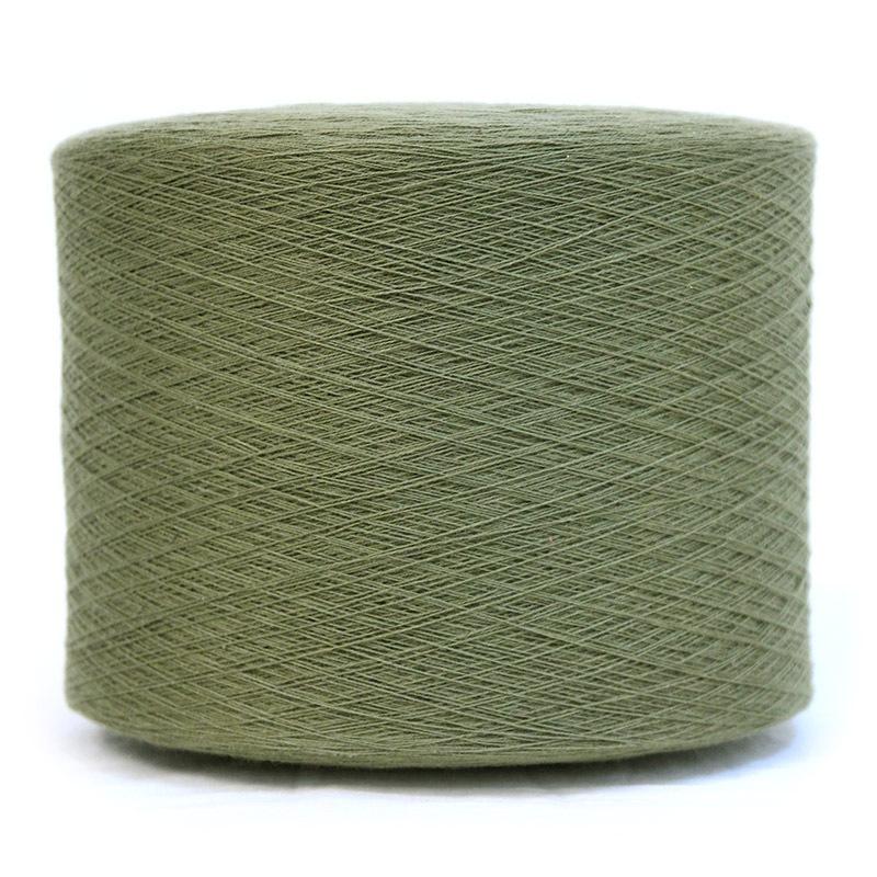 和木綿のモスグリーン糸