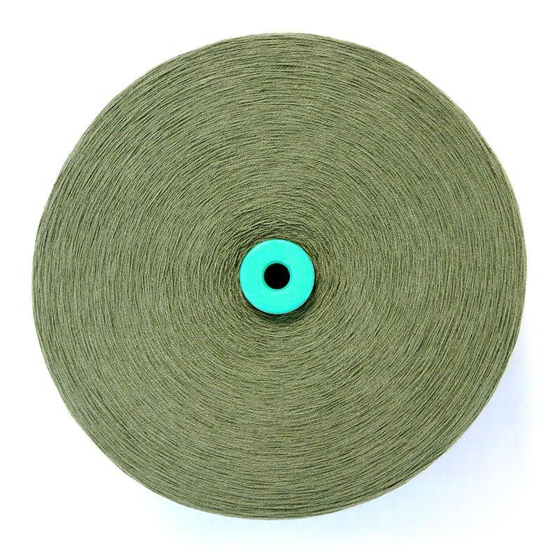 和木綿の糸「モスグリーン」の写真