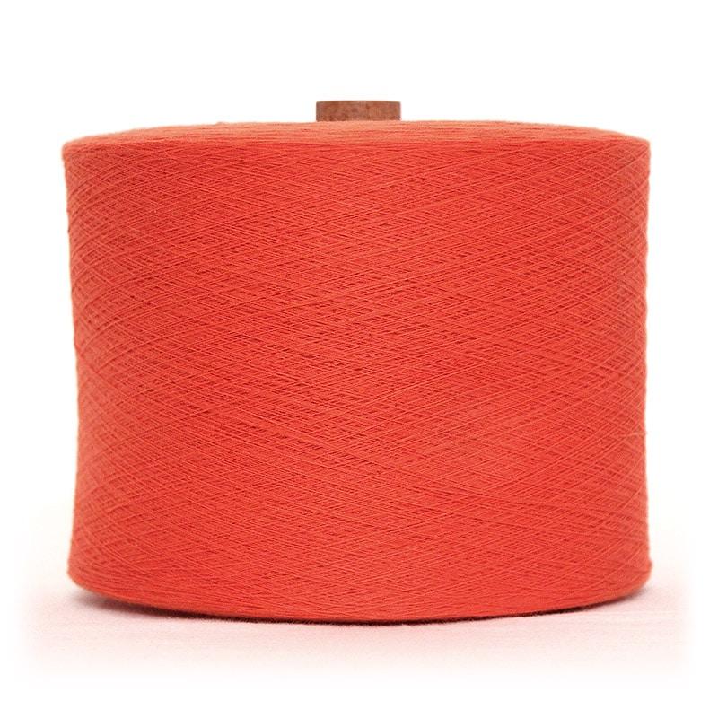 和木綿のオレンジ糸