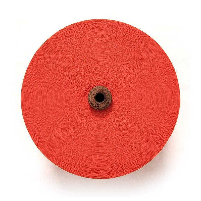 和木綿の糸「オレンジ」の写真