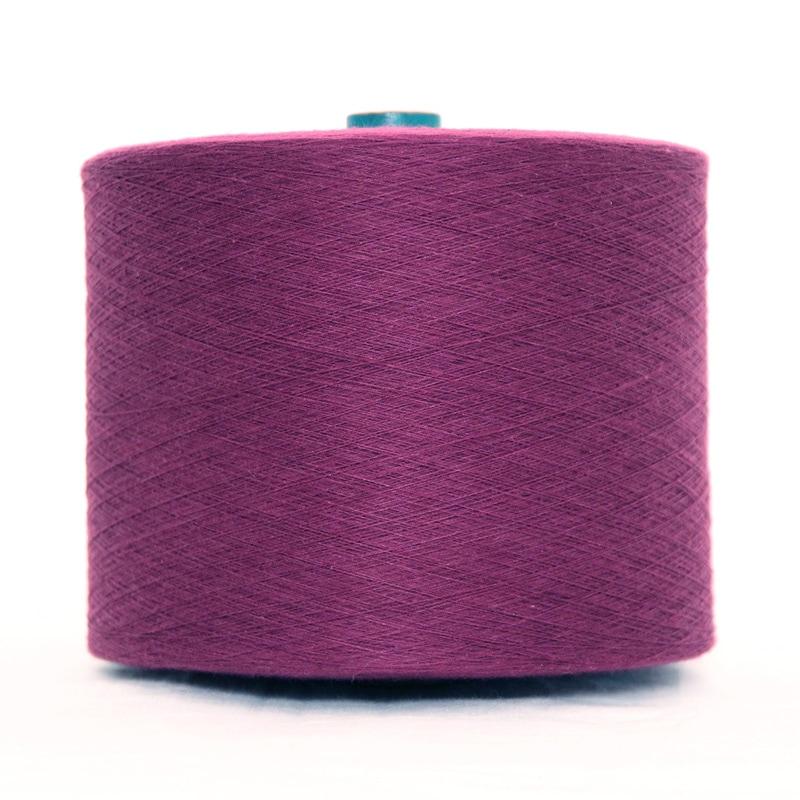 和木綿のパープル糸