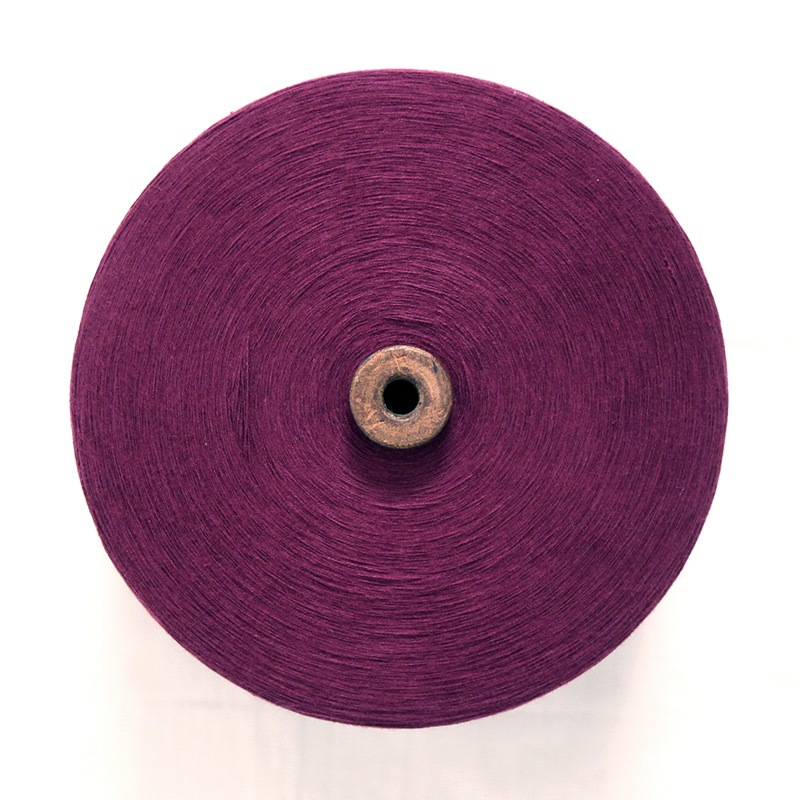 和木綿の糸「パープル」の写真