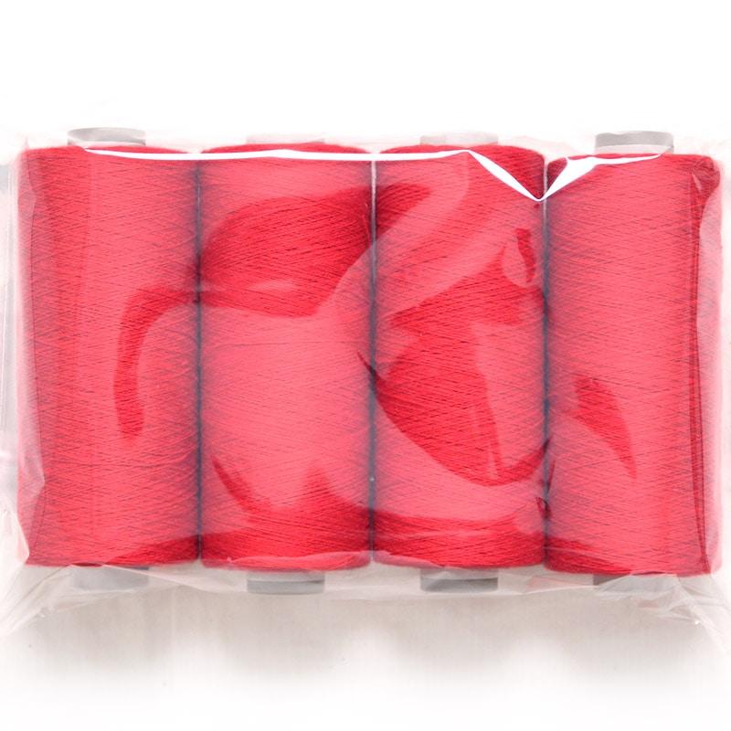 和木綿の糸「赤」 少量セットの写真