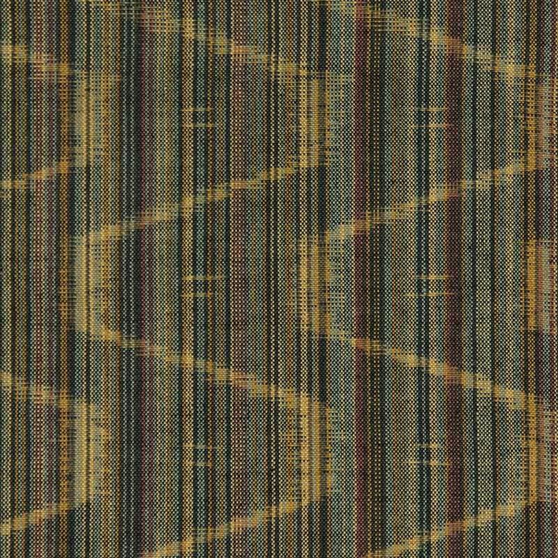 久留米絣「矢鱈縞 散歩道」の写真