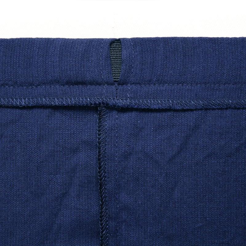 作務衣「ちぢみ織り」ウエスト写真