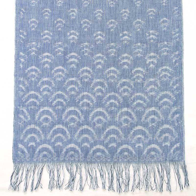 久留米絣「青海波」の写真