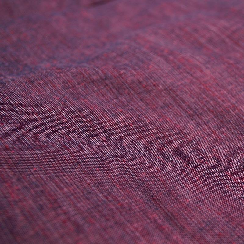 和木綿「引き揃え」ピンク 生地画像