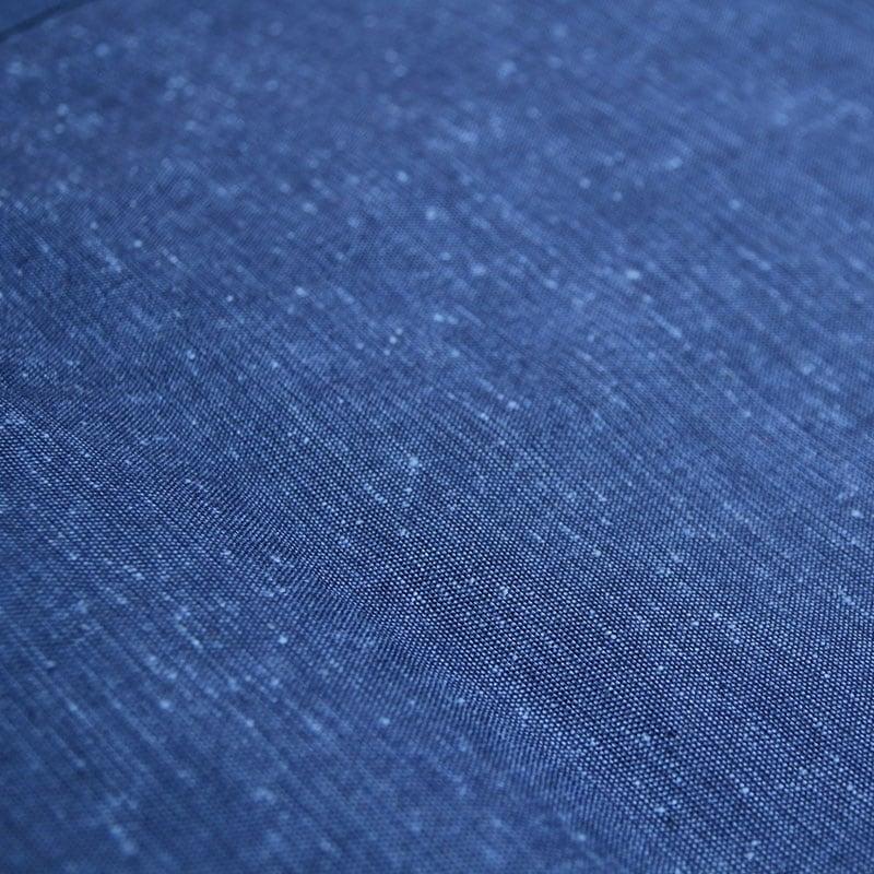 和木綿「引き揃え」ブルー 生地画像
