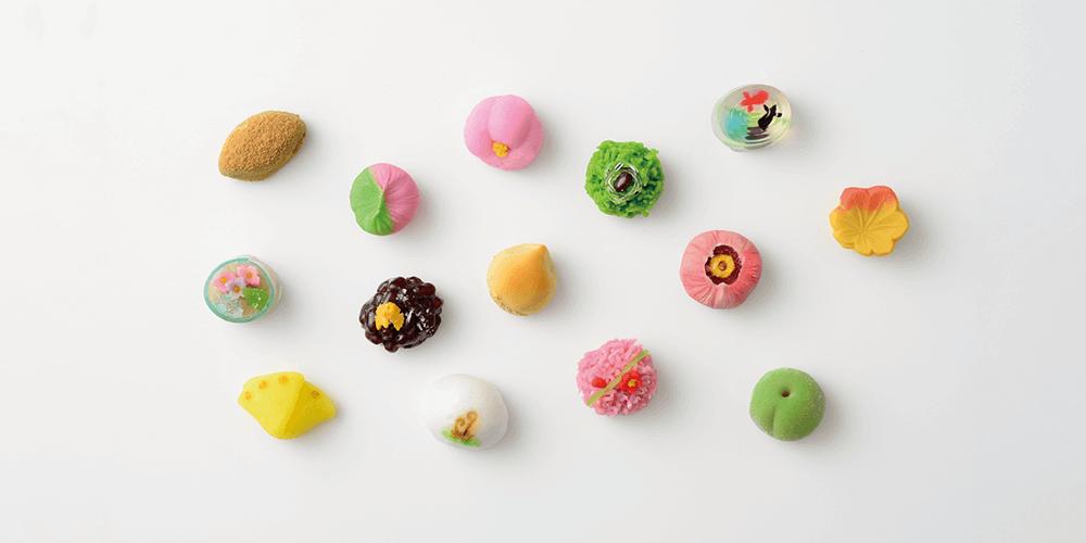 四季のお菓子