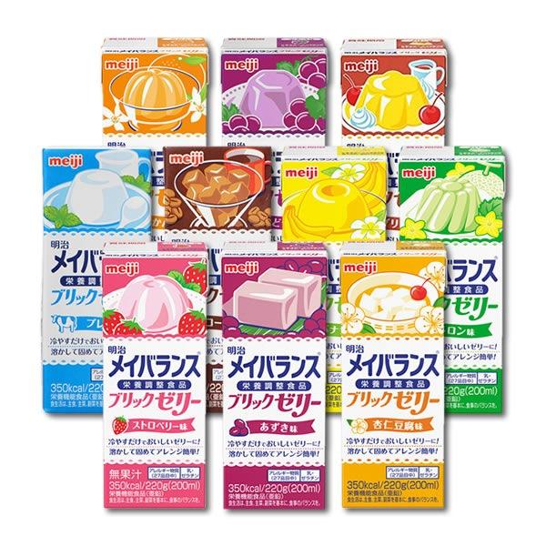 ゼリー 食品 栄養 補助