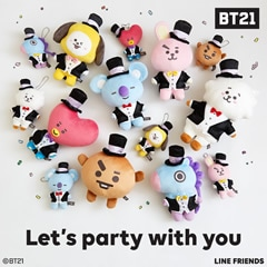 BT21 Let's party with you